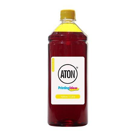 Tinta para Cartucho HP 46 | 2529 | 4729 Yellow 1 Litro Corante Aton