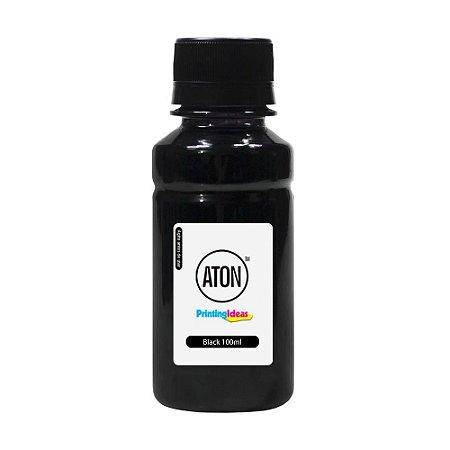 Tinta para Cartucho HP 46 | 2529 | 4729 Black 100ml Pigmentada Aton