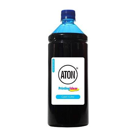 Tinta para Brother T300 | T700W | MFC T800W Cyan Aton Corante 1 Litro