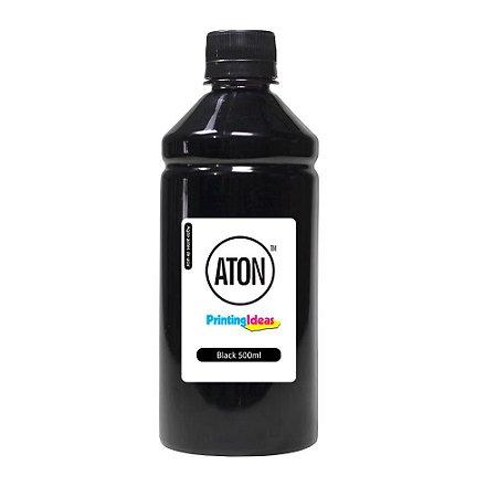 Tinta para HP 670XL   HP 4615   CZ120AB Black 500ml Pigmentada Aton