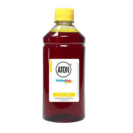 Tinta para Impressora Brother Universal Yellow Aton Corante 500ml