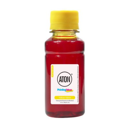 Tinta para Impressora Brother Universal Yellow Aton Corante 100ml