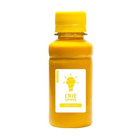Tinta para Sublimação Premium Crie Sempre Yellow 100ml