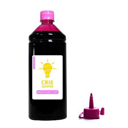 Tinta para Epson L800 Premium Crie Sempre Magenta Light 1 Litro Corante