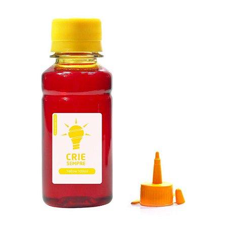 Tinta para Epson L800 Premium Crie Sempre Yellow 100ml Corante