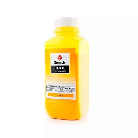 Tinta para Sublimação Digital Gênesis para Epson Universal Alta Performance Yellow 1 Litro