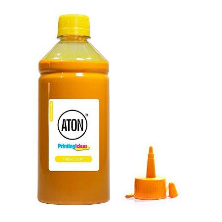 Tinta para Epson L575 Ecotank Yellow Aton Pigmentada 500ml