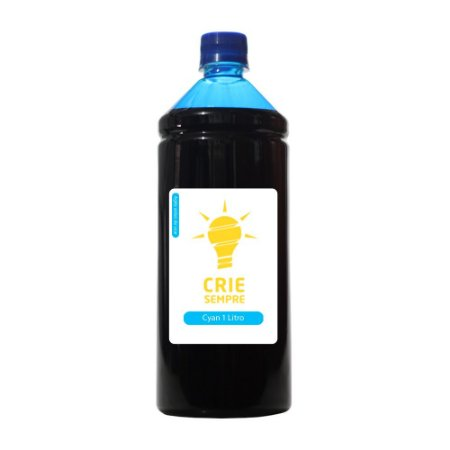 Tinta para Cartucho HP 935 | 935XL Cyan 1 Litro Pigmentada Crie Sempre