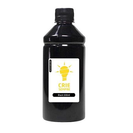Tinta para Cartucho HP 934   934XL Black 500ml Pigmentada Crie Sempre