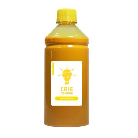 Tinta para Cartucho HP 935 | 935XL Yellow 500ml Pigmentada Crie Sempre