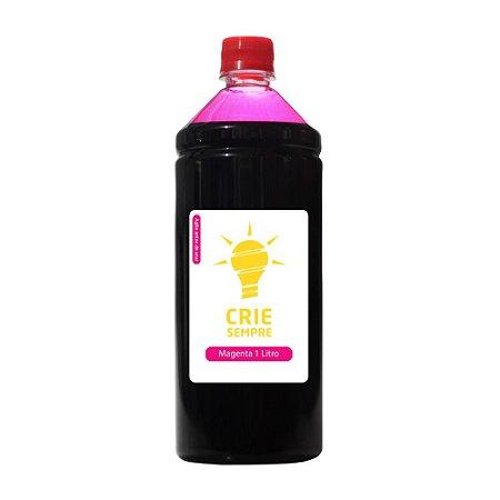 Tinta para Cartucho HP 933 | 933XL Magenta 1 Litro Pigmentada Crie Sempre