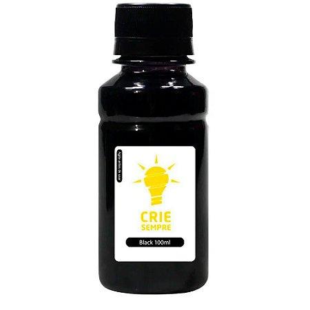 Tinta para Cartucho HP 932 | 932XL Black 100ml Pigmentada Crie Sempre