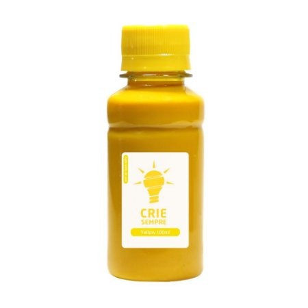 Tinta para Cartucho HP 933   933XL Yellow 100ml Pigmentada Crie Sempre
