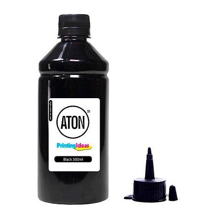 Tinta para HP Officejet 6970   6978   908 Black 500ml Pigmentada Aton