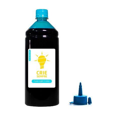 Tinta para Epson L1800 Cyan Light 1 Litro Pigmentada Crie Sempre