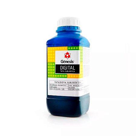 Tinta para Epson L575 Sublimática Ecotank Cyan 1 Litro Gênesis
