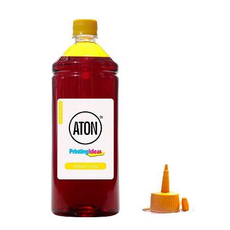 Tinta para Epson Ecotank L395   L 395 Yellow Aton Corante 1 Litro