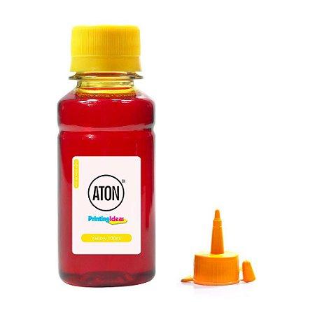 Tinta para Epson EcoTank L380 Yellow 100ml Corante Aton
