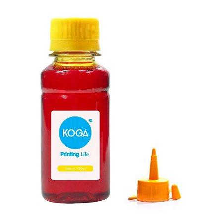 Tinta para Impressora Epson L365 Yellow Corante 100ml Koga