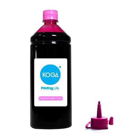 Tinta para Epson T673 Bulk Ink Magenta Light 1 Litro Corante Koga