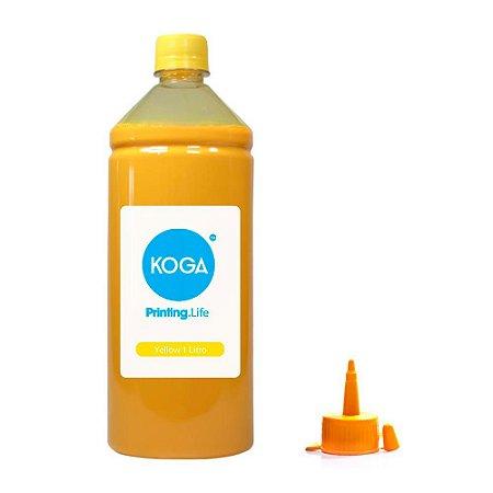 Tinta para Epson L375 Ecotank Sublimática Yellow 1 Litro Koga