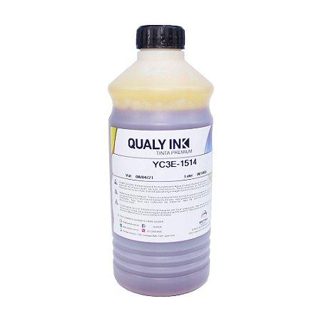 Tinta para Epson L575 Bulk Ink Yellow 1 Litro Corante Qualy Ink