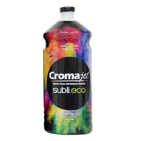 Tinta Bulk Ink Sublimática para Epson L395 Black 1Kg Cromajet