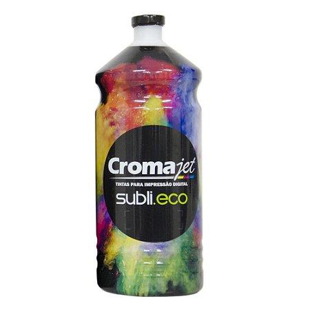 Tinta Sublimática para Epson L455 EcoTank Black 1Kg Cromajet