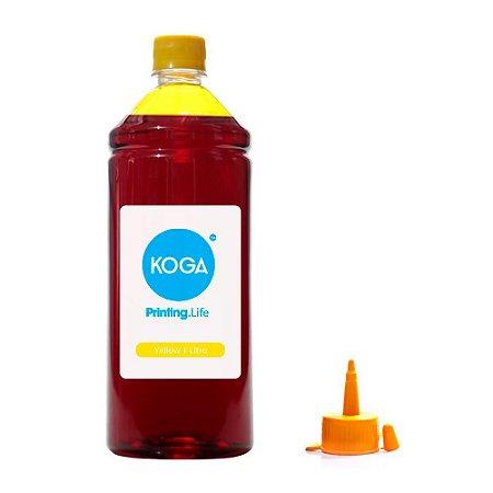 Tinta para Epson L475 EcoTank Yellow Corante 1 Litro Koga