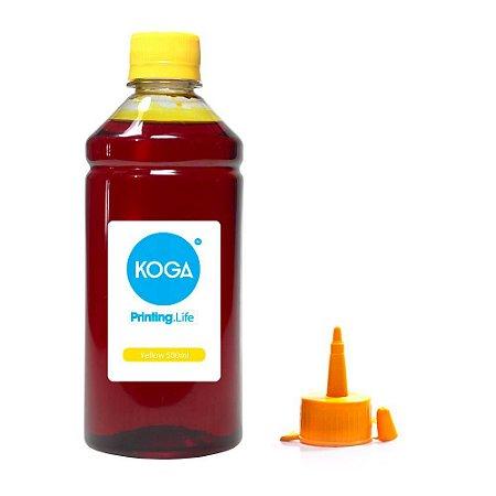 Tinta para Epson L555 EcoTank Yellow Corante 500ml Koga