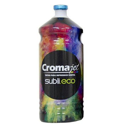 Tinta Sublimática para Epson L800 EcoTank Cyan 1Kg Cromajet