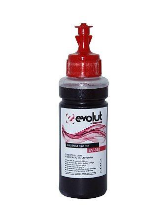 Tinta para Epson Bulk Ink L395 magenta 100ml Corante Evolut