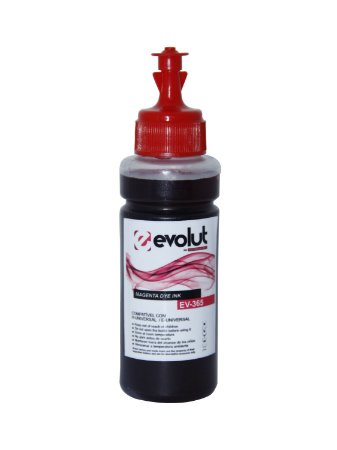 Tinta para Epson Bulk Ink L375 Magenta 100ml Corante Evolut