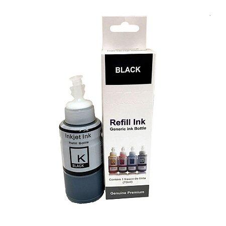 Compatível: Tinta para Impressora Epson Bulk Ink Black L495 70ml Premium