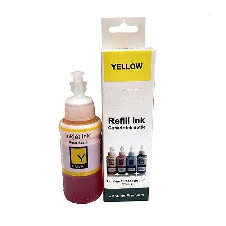 Tinta para Impressora Epson L375 Yellow 70ml Premium