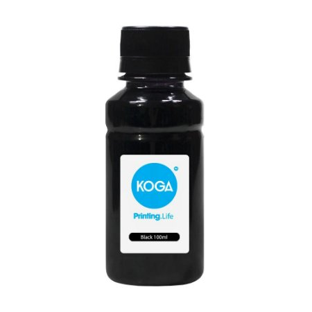Tinta para Epson L6161 Koga Black Pigmentada 200ml