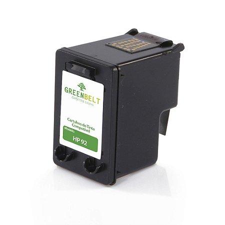 Cartucho para HP 92 | C9362W Preto Compatível 13ml