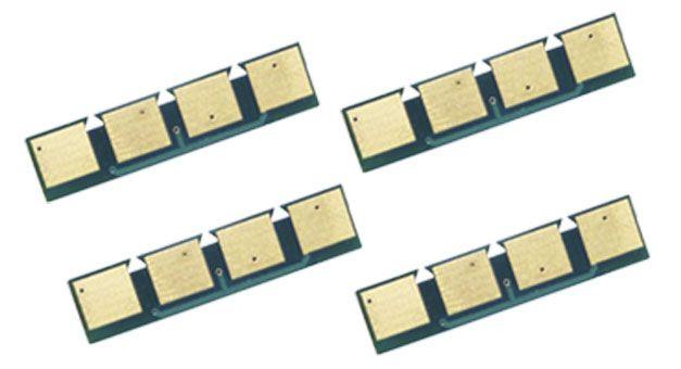 Kit 4 Chip para Samsung CLP 310   CLP 315   CLX 3170   CLX 3175 CMYK