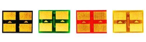 Kit 4 Chip para Samsung CLP 300 | CLX 2160N | CLX 3160FN CMYK