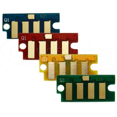 Kit 4 Chip para Xerox Phaser 6000 | 6010 | 6015 CMYK