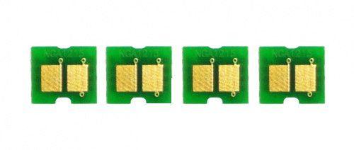Kit 4 Chip para HP CP1215   CP1515   CP1518   CM1312 CMYK