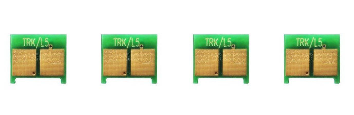 Kit 4 Chip para HP CP2025 | CM720 CMYK