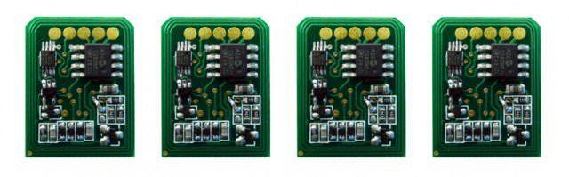 Kit 4 Chip para Okidata C6100 | C5700 | C5900 CMYK