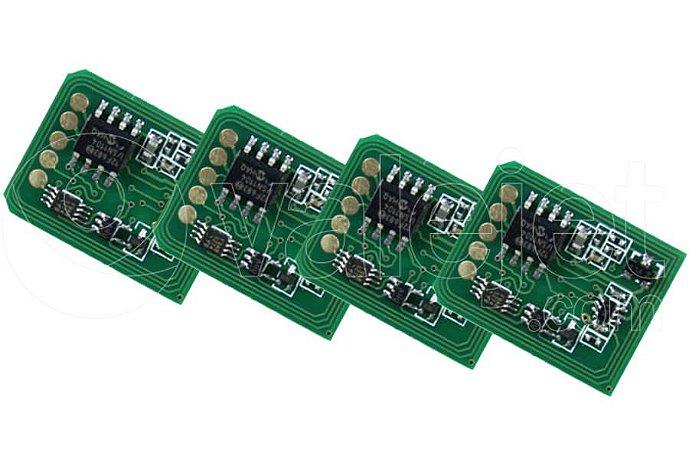 Kit 4 Chip para Okidata C8800 CMYK 6k