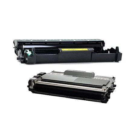 Kit Fotocondutor + Toner Compativel para Brother TN410   TN420   TN450
