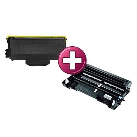 Kit Fotocondutor + Toner Compativel para Brother HL2140 | TN360