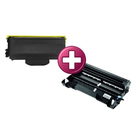 Kit Fotocondutor + Toner para Brother TN 750   TN 720   Compatível
