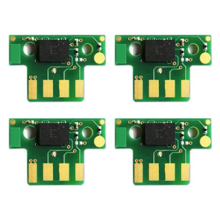 Kit 4 Chip Lexmark X544   C544   X548   C540   X543 CMYK