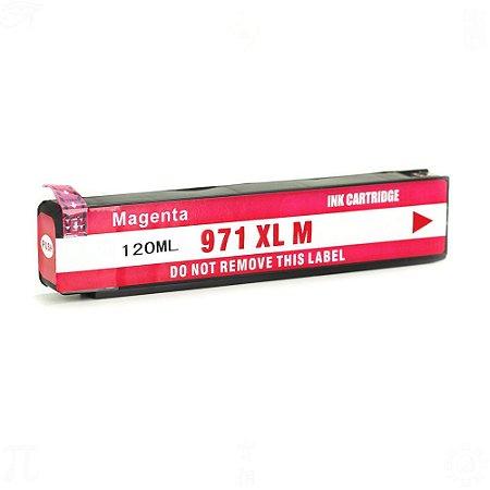 Cartucho de Tinta HP 971XL CN623AM | X451DW Magenta Compatível 120ml