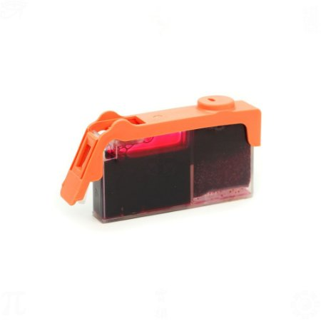 Cartucho de Tinta HP 670XL   5525   4625 Magenta Compatível 14ml